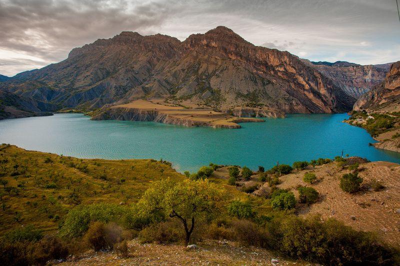 пейзаж озеро горы кавказ  Дагестан  фото превью