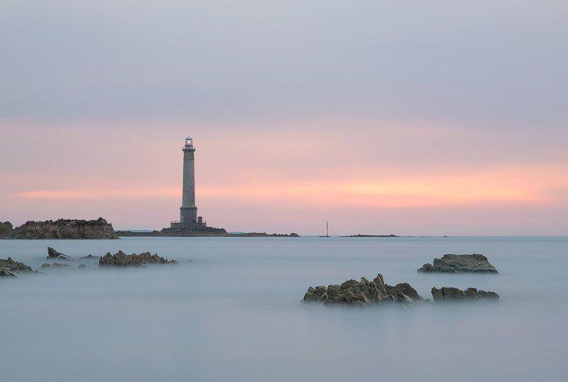 Lighthouse, маяк, Франция, Нормандия, France Lighthouse of Goury at Cap de la Hague, Normandy, Francephoto preview