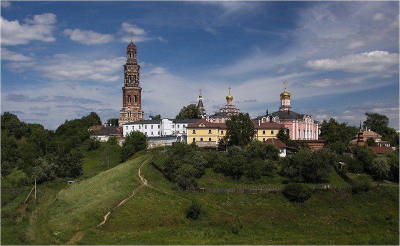 монастырь, рязань, пощупово Тропинка к монастырюphoto preview
