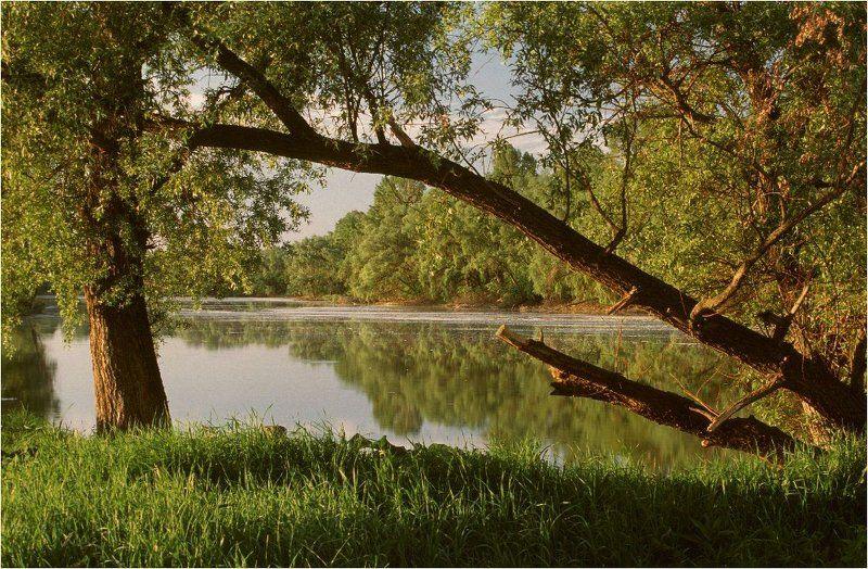 озеро, искинское, башкирия Раннеутренняя картинка \
