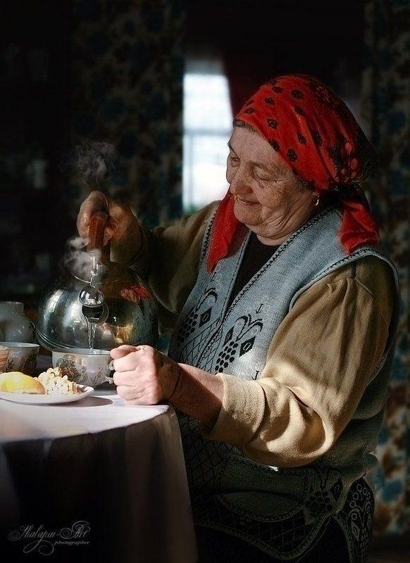 шалафаев, shalapai-art Деревенская жизньphoto preview