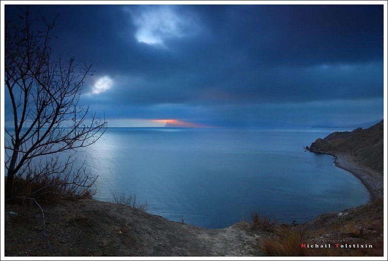 закатный лучикphoto preview