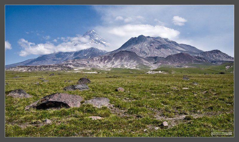 камчатка, вулкан, камень, безымянный ***photo preview