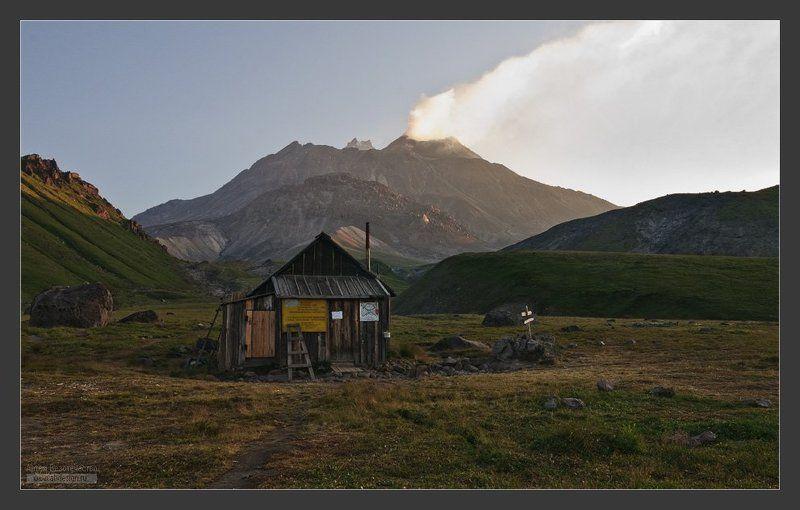 камчатка, вулкан, безымянный, камень Раннее утро у Безымянногоphoto preview