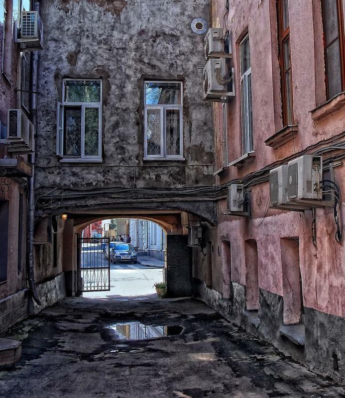 москва, центр, дворы Дворphoto preview