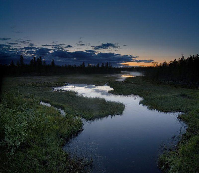 Приток реки Пяку-Пур. Ямалphoto preview