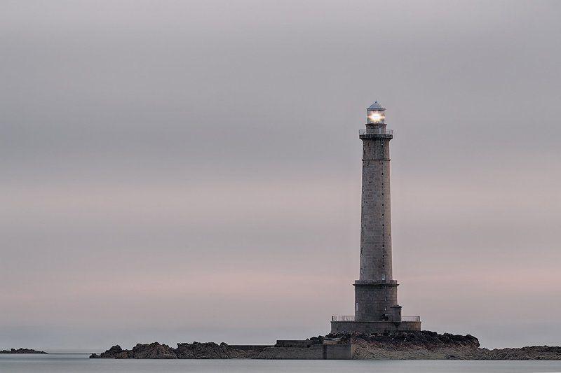 маяк, Франция, Нормандия, Normandie, Lighthouse, France, маяки Phare de la Hague, Goury, Basse Normandie, Francephoto preview