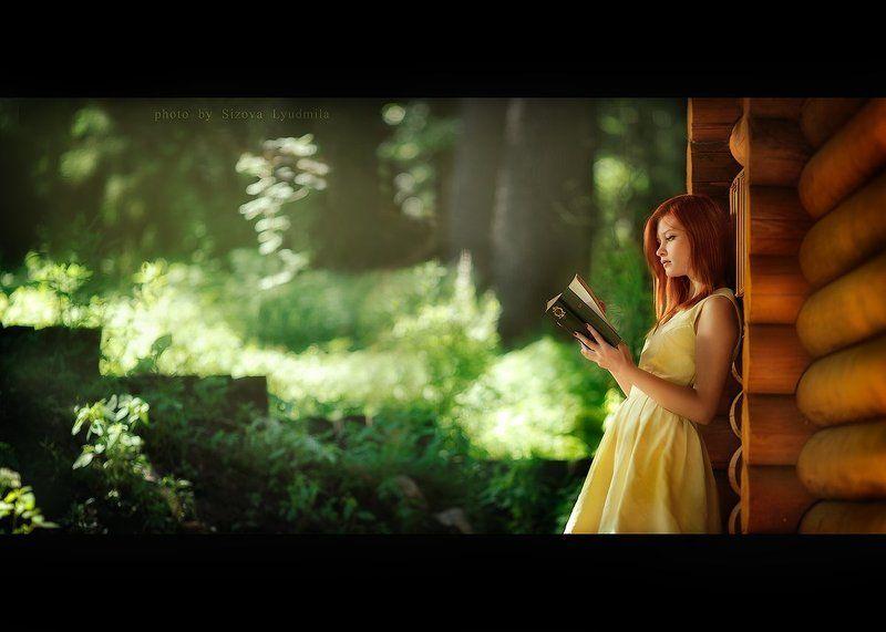 девушка, на, природе девушка на природеphoto preview