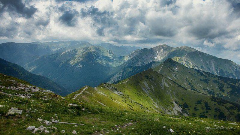 Landscape, Mountains, Peaks, Rpowroznik, Tatras Western Tatras...photo preview
