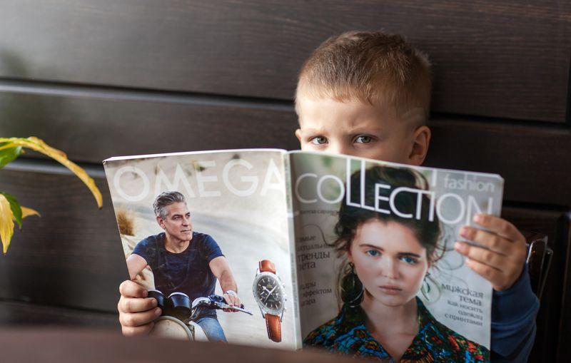 нас читают даже дети ...photo preview