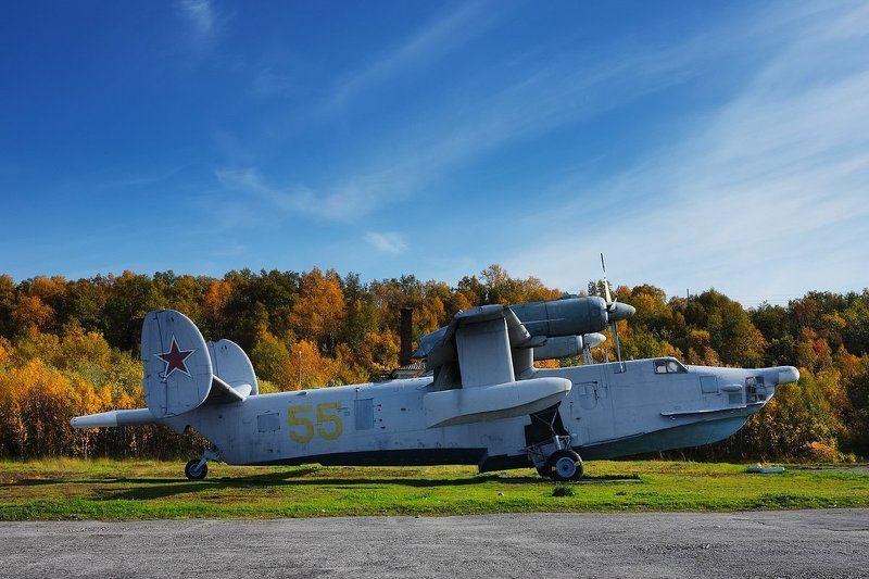 авиация самолеты авиа Бе-12. Музей Северного флота.photo preview