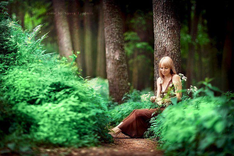 девушка природа красивая Светланаphoto preview