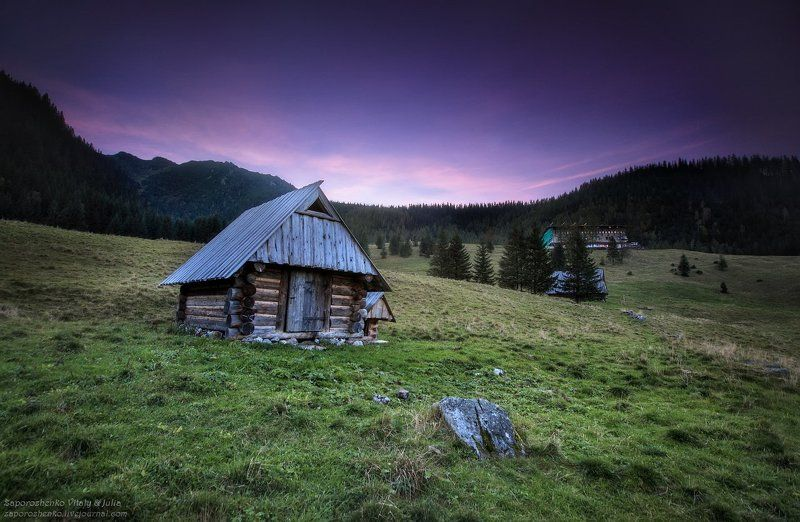 evening, familygarden, kalatowki, poland, tatra mountains, tatry, vint26, zakopane, zaporozhenko Evening in the Tatrasphoto preview