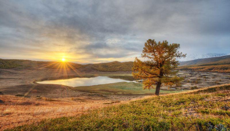 Золотой рассвет на Ештыкёльphoto preview