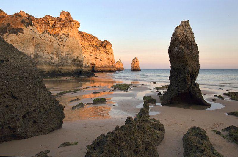 Algarve, Beach, Ocean, Prainha, Tide, Алгарве, Океан, Пляж, Португалия ***photo preview