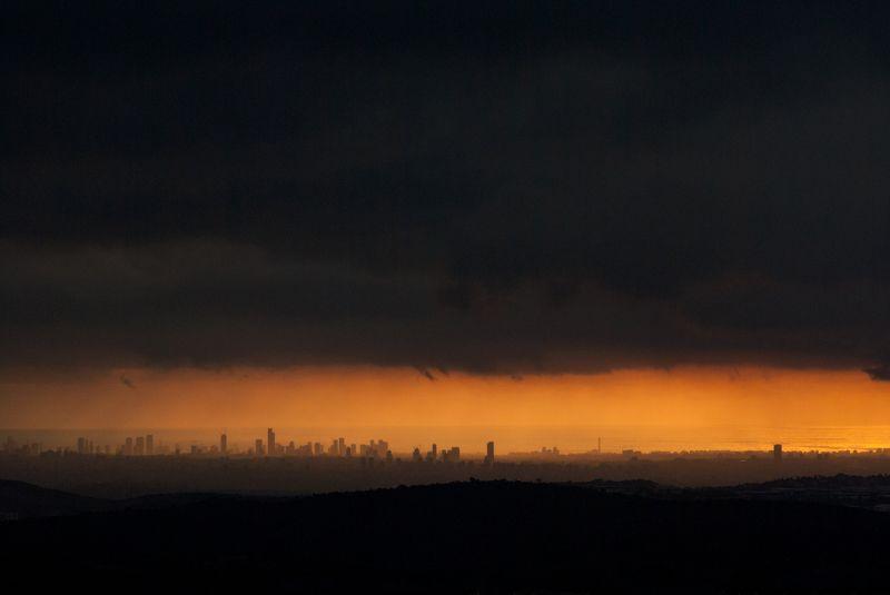 Закат в Тель-Авивеphoto preview