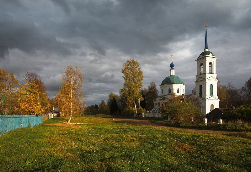 Про осень в деревнеphoto preview
