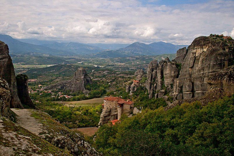 скалы  Метеоры, Грецияphoto preview