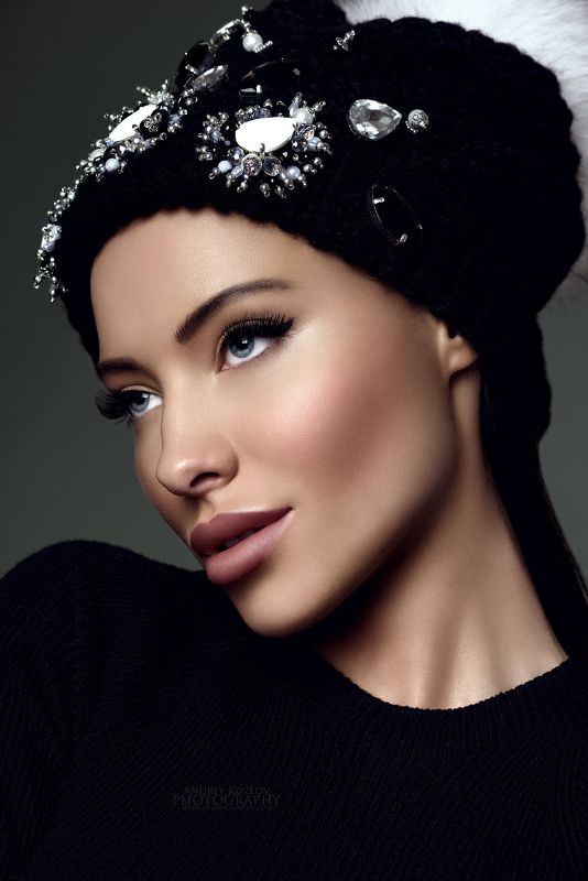 beauty, fashion, girl, glamour, model, portrait, studio Veronicaphoto preview