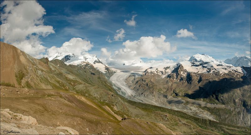 Альпы, Швейцария, Ледник Langflue Gletscherphoto preview