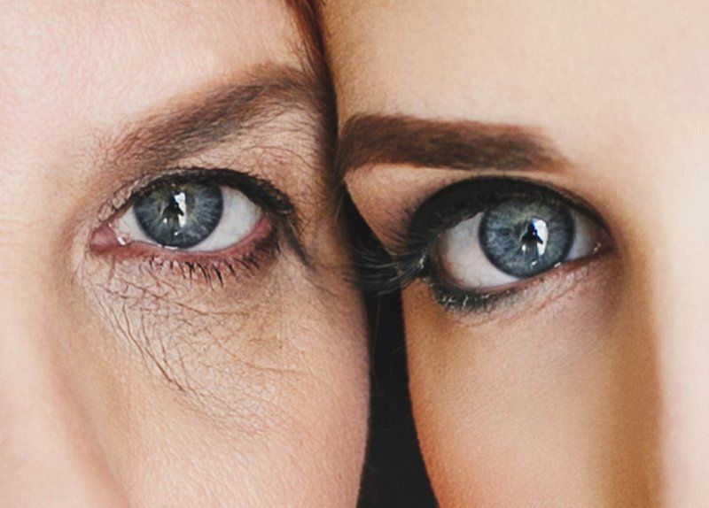 Глаза, История, Семья Когда мать и дочь как единая планетаphoto preview