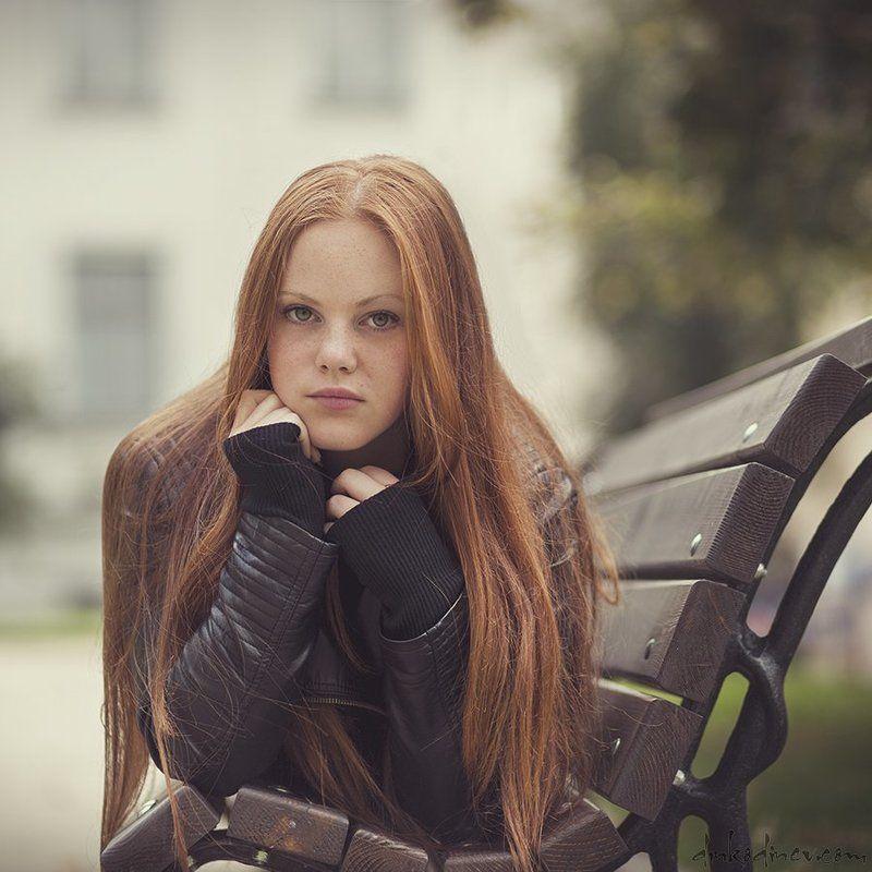 Passion, Portrait, Red hair, Woman, Девочка, Портрет, Портрет девушки ***photo preview