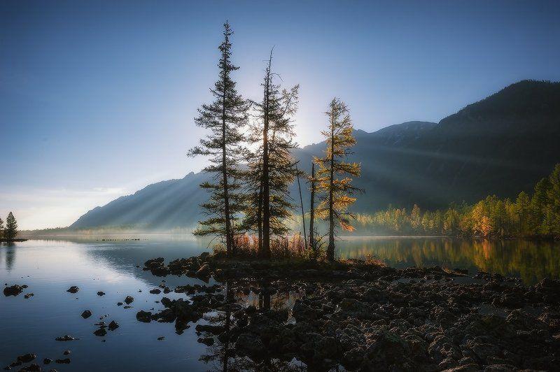 Рассвет на озере…2photo preview