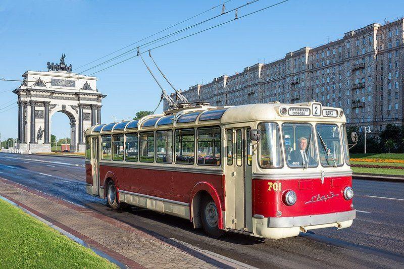 москва, мосгортранс, троллейбус, СВАРЗ, СВАРЗ-МТБЭС Шел троллейбус №2photo preview