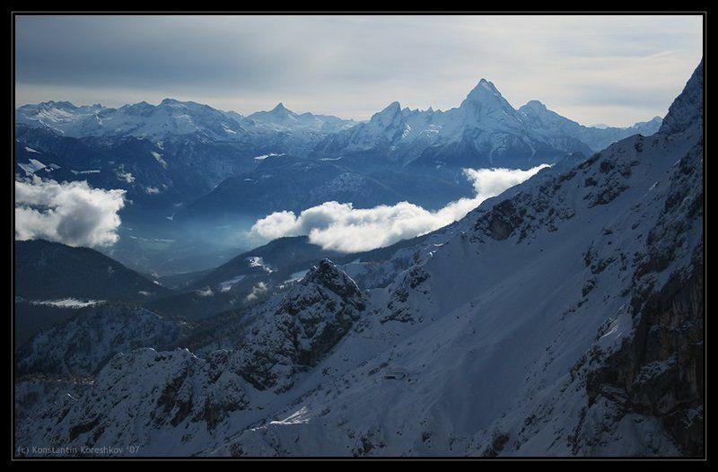 Австрия, Зальцбург, Austria, Salzburg, Унтерсберг, Untersberg, Альпы, Alps, горы Австрийский пейзажphoto preview