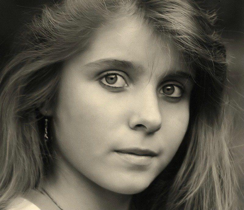 ксюша, портрет, retro, 1992г Ксюшаphoto preview