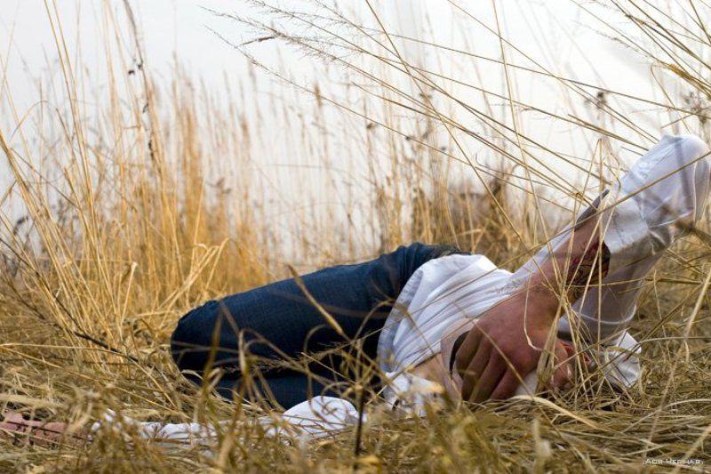 чувства, поле, жизнь, цвета, макияж Думать о тишинеphoto preview