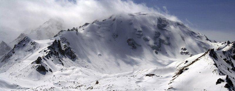 казахстан, заилийский, алатау, природа, горы Могущество...photo preview