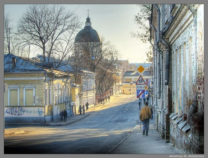 москва, хохловский переулок Зарисовка 4photo preview