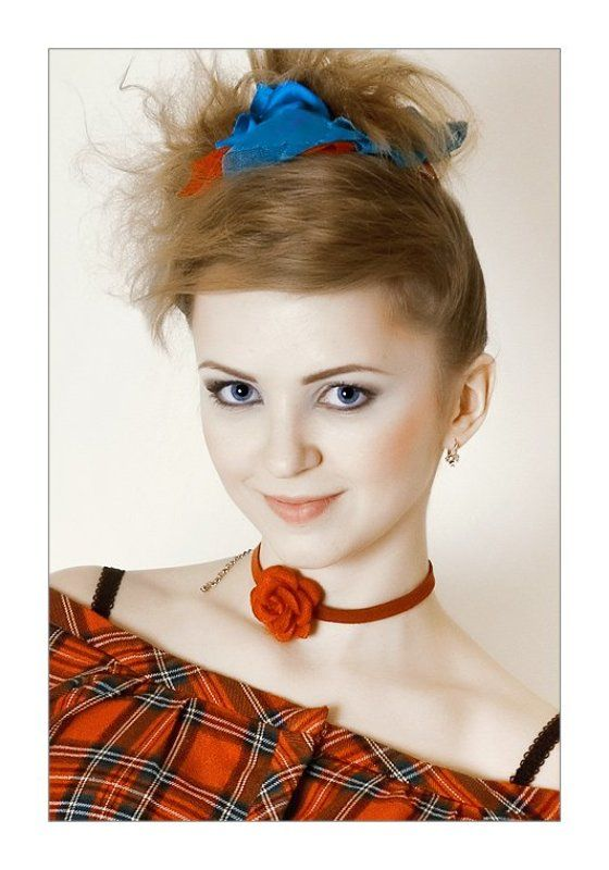 девушка, гламур, портрет photo preview