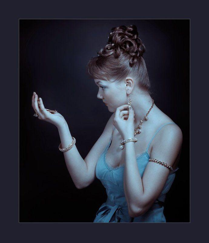 девушка, гламур, портрет ***photo preview