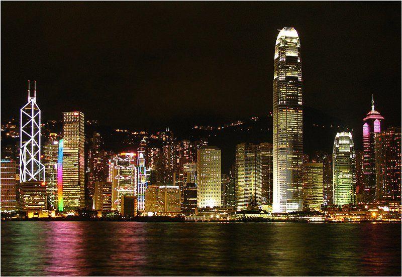 Набережная Гонконгаphoto preview