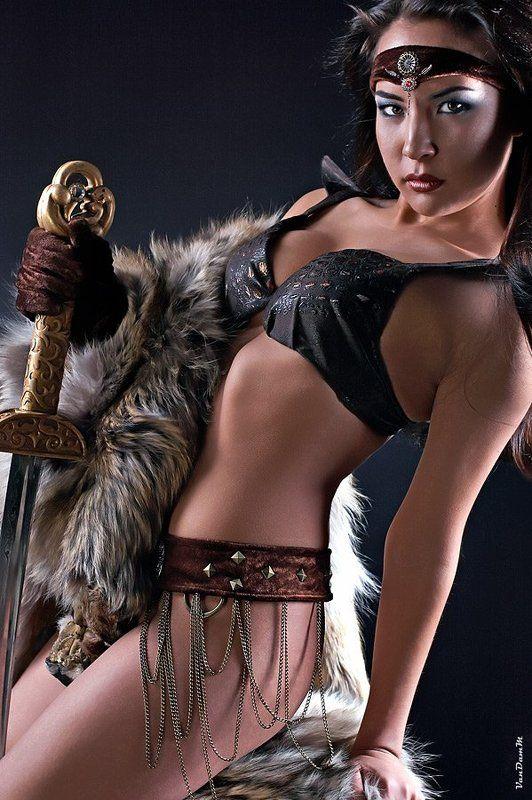 воин, фэнтези, девушка fantasy warriorphoto preview