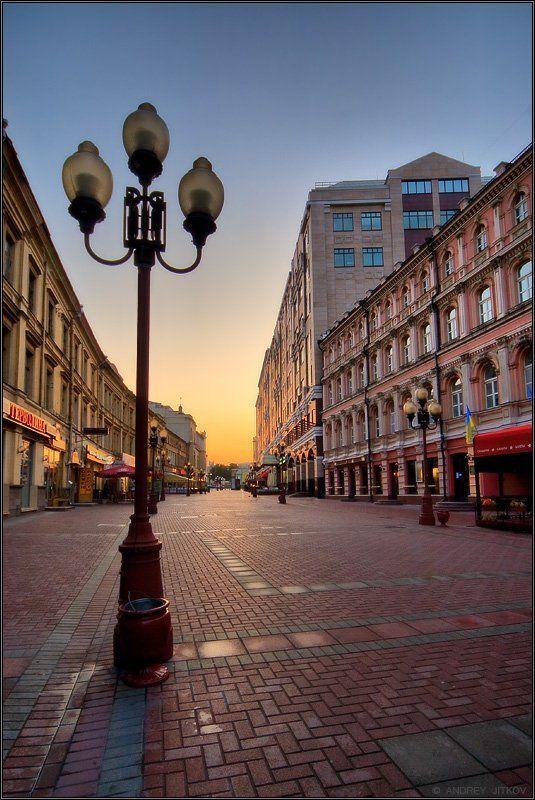 москва, город Спящий Арбат..photo preview