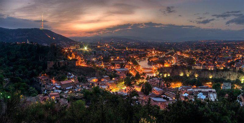 тбилиси Ночной Тбилисиphoto preview