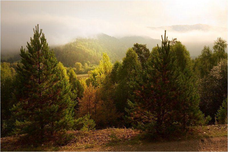 хребет, малый ямантау, южный урал, башкирия Осень на Южном Урале, осень.photo preview