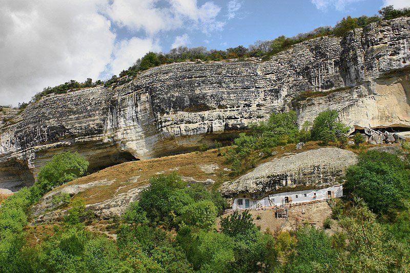 крым, горы, дом, хоз, постройка Домик в горах...photo preview