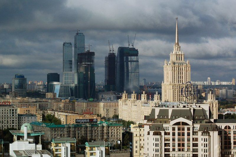 москва, город, сити, мегаполис Мегаполисphoto preview