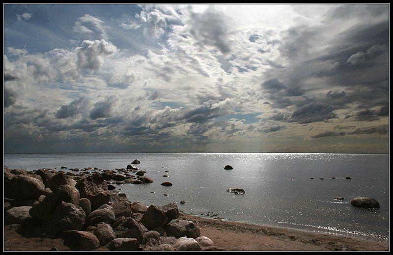 финский залив, приветнинское, облака, берег Небесный шумphoto preview