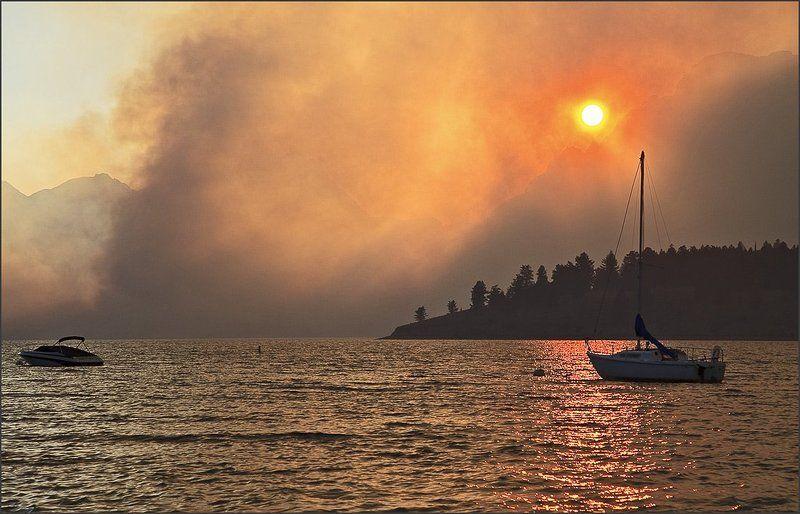 Марево пожара.photo preview
