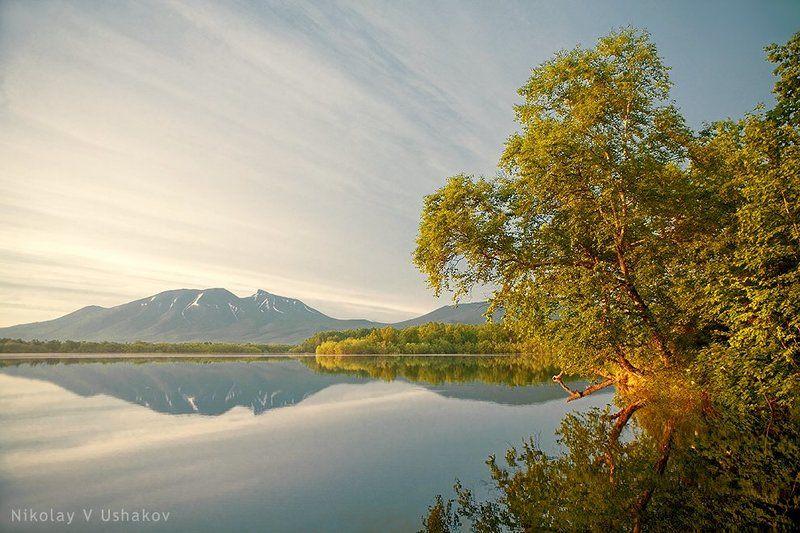 Камчатка озеро осень Осеньphoto preview