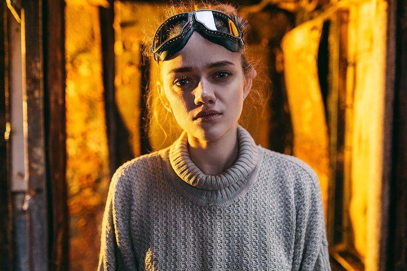 35 мм, Color, Film, Girl, Light, Portrait ***photo preview