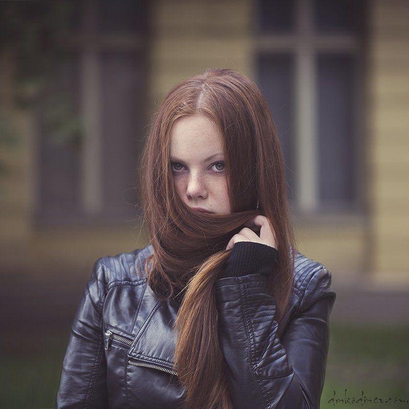 Hair, Passion, Portrait, Red hair, Woman, Девочка, Портрет, Портрет девушки ***photo preview