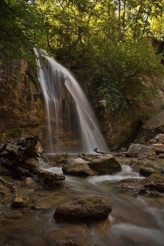 водопад, джур-джур, крым, лето Водопад Джур-Джурphoto preview
