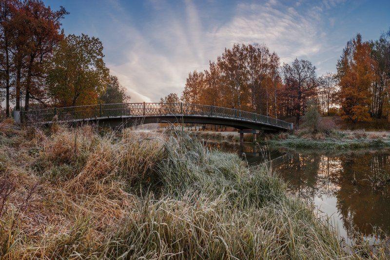 павловск, бип, осень, россия, рассвет, мост, славянка, тызва про Горбатый мост или... photo preview
