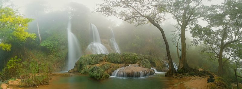 Dai Yem waterfall, Mocchau Vietnamphoto preview